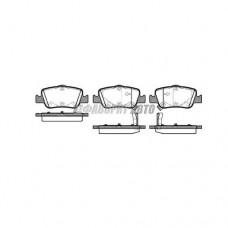 Колодки тормозные LPR 05P1315 зад.
