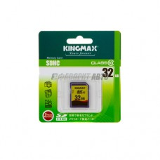 Карта памяти KINGMAX SDHC 32GB CLASS 10