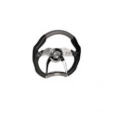 Рулевое колесо  AZARD 5112В ПАУК черное @