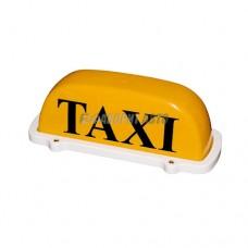 """Знак """"TAXI"""" на крышу 12В на магните TX202 (taxi, шашечки)"""