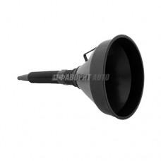 Воронка пласт.с гибким носом, фильтром d=135мм 108312