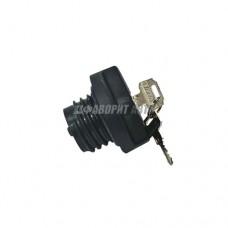 Крышка бензобака с ключом 2108-099 Хром 08098