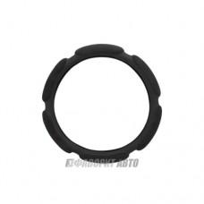Оплетка руля L SP-5026 BK поролон (6 подушечек) черная