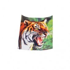 Наклейка Портрет 33х35см цветная Тигр