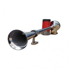 Сигнал звуковой 12В труба, хром ST1019S