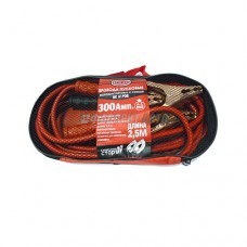 Провода для прикуривания 300А 2,5м до -40*C сумка BOLK BK51908