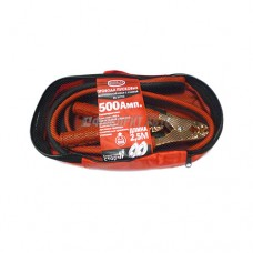 Провода для прикуривания 500А 2,5м до -40*C сумка BOLK BK51910