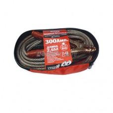 Провода для прикуривания 300А 2,5м до -40*C силиконовые сумка BOLK BK51914