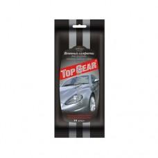 Салфетки влажные для стекол зеркал Top Gear № 30 City Up
