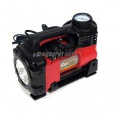 Компрессор AC-590 Projector с фонарем для подкачки автом. колес City Up