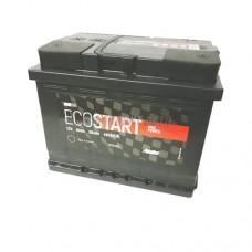 АКБ ECOSTART 6СТ-60 А/ч (пп), 480п.т. Польша  242х175х190 зал.