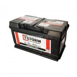 АКБ 1STORM Power (Са/Са) 6СТ-85 А/ч низкая (оп), 850п.т. Польша  315х175х175 зал.