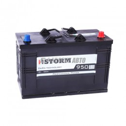 АКБ 1STORM Power (Са/Са) 6СТ-125 А/ч (оп), 950п.т. Польша  350х175х230 зал.