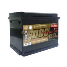 АКБ Duo Extra 6СТ-60VLЗ DXE-060АА-0 60а/ч (оп) 600 п.т. г.Свирск