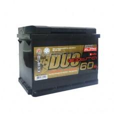 АКБ Duo Extra 6СТ-60VLЗ DXE-060АА-1 60а/ч (пп) 600 п.т. г.Свирск
