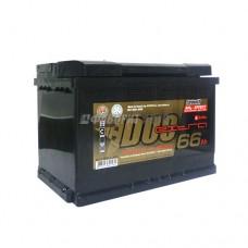 АКБ Duo Extra 6СТ-66VLЗ DXE-066АА-0 66а/ч (оп) 640 п.т. г.Свирск