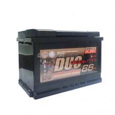 АКБ Duo Extra 6СТ-66VLЗ DXE-066АА-1 66а/ч (пп) 640 п.т. г.Свирск