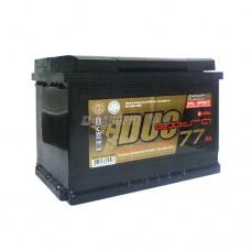 АКБ Duo Extra 6СТ-77VLЗ DXE-077АА-0 77а/ч (оп) 720 п.т. г.Свирск