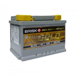 АКБ BRISK GOLD BCG063L (пп) 650 п.т. @
