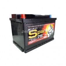 АКБ SPARK 6ст-75VL3 SPA75A3-L 12В 75 а/ч 560 п.т. конус п.п. г.Свирск