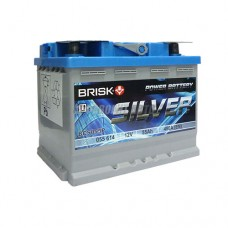 АКБ BRISK SILVER BCS055P (оп) 490 п.т.