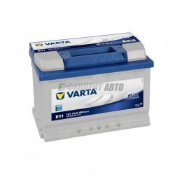 АКБ  VARTA Blue Dynamic 74 А/ч 574012 о.п.Е11