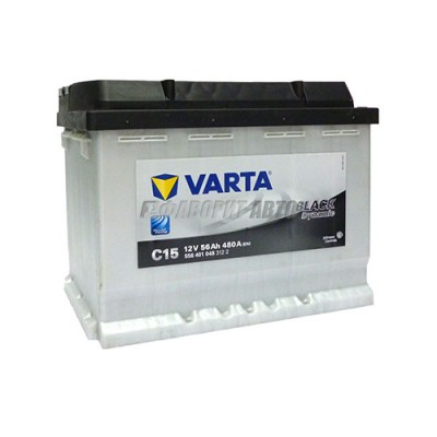 Аккумуляторная батарея VARTA Black Dynamic 56 А/ч 556401 п.п. С15