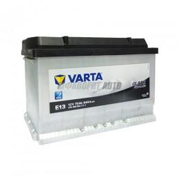 АКБ  VARTA Black Dynamic 70 А/ч 570409 о.п.  E13@
