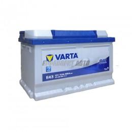 АКБ  VARTA Blue Dynamic 72 А/ч 572409 о.п.Е43
