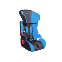 Автокресло детское  9-36кг SIGER ART Космо (8мес-12лет) внутр. ремни Синее