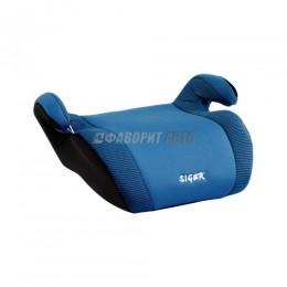 Автокресло (подушка) 15-36кг (до 12лет) Мякиш Плюс синий