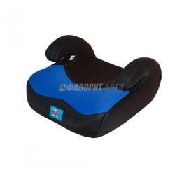 Автокресло (подушка) 15-36кг (до 12лет) Litle Car 02В8 сине-черное
