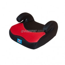 Автокресло (подушка) 15-36кг (до 12лет) Litle Car 02В3 красно-черное