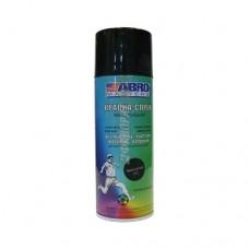 Краска-спрей ABRO MASTERS (черный глянцевый) SP-011-AM