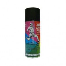 Краска-спрей ABRO для пластика (Черный глянцевый) SPP-011