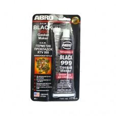 Герметик прокладок ABRO ОЕМ 999 (черный) 85 г 912-AB