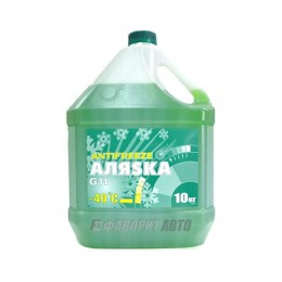 Антифриз АЛЯСКА -40 green G11 ГОСТ  10кг   арт.5523