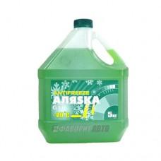 Антифриз АЛЯСКА -40 green G11 ГОСТ   5кг   арт.5062