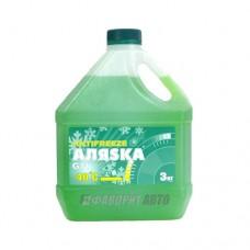 Антифриз АЛЯСКА -40 green G11 ГОСТ   3кг   арт.5537