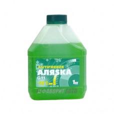 Антифриз АЛЯСКА -40 green G11 ГОСТ   1кг   арт.5063