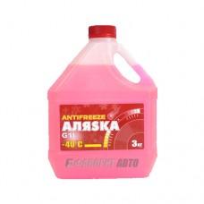 Антифриз АЛЯСКА -40 red G11 ГОСТ   3кг   арт.5538