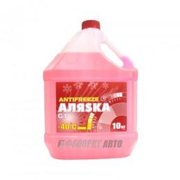 Антифриз АЛЯСКА -40 red G11 ГОСТ  10кг   арт.5528