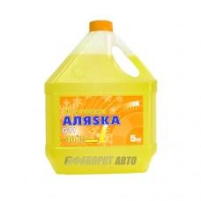Антифриз АЛЯСКА -40 yellow G11 ГОСТ   5кг   арт.5370