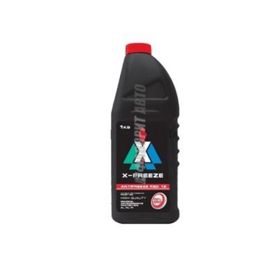Антифриз Башнефть Red в полиэтиленовой бутылке, 1кг
