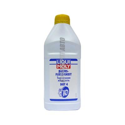 Тормозная жидкость LiquiMoly Bremsenflussigkeit DOT-4, 1л