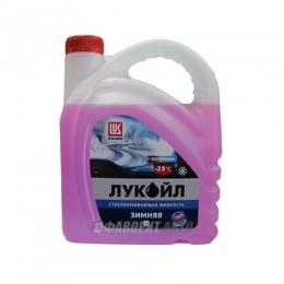 Стеклоом. жид-ть ЛУКОЙЛ   -25 С (бабл гам) 4 л.