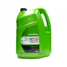 Антифриз  LUXE GREEN LINE G11 (зеленый) 10 л. арт.672