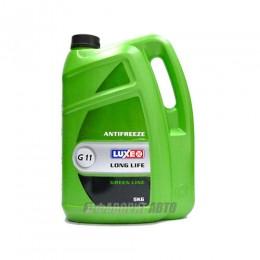 Антифриз  LUXE GREEN LINE G11 (зеленый)  5 л. арт.666