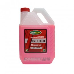 Антифриз OIL RIGHT -40 (красный) ГОСТ  10 кг. арт.2915