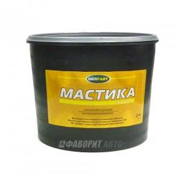 Мастика OIL RIGHT резинобитумная (ведро) 2 кг. арт.6101